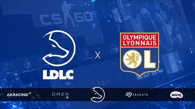 LDLC y el Olympique de Lyon se unen para hacerse fuertes en los esports