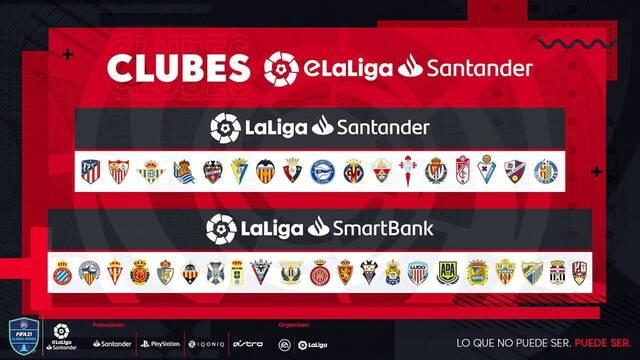 Sigue en directo la presentación de la temporada 2021 de eLaLiga Santander