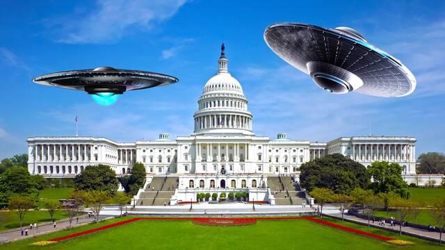 EE.UU: Piden desclasificar información de OVNIS para aprobar los fondos contra el coronavirus