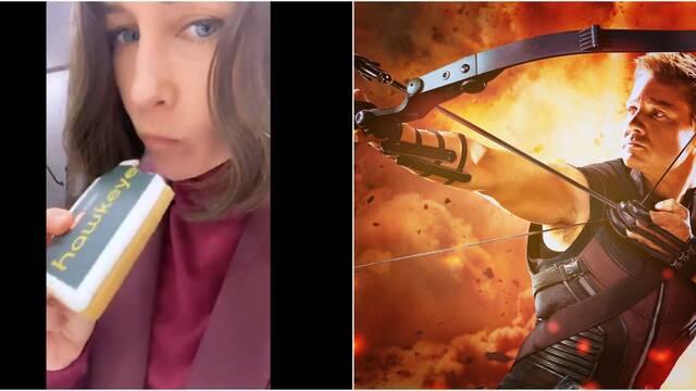 Hawkeye: Vera Farmiga caracterizada como Eleanor Bishop en el set de rodaje