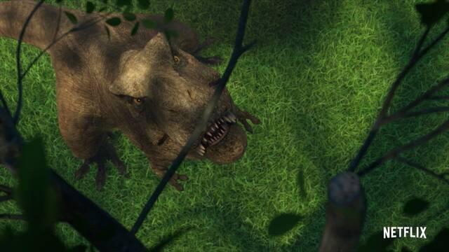 Jurassic World: Campamento Cretácico presenta al T-Rex en un nuevo tráiler