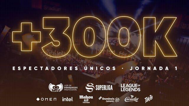 La Superliga de League of Legends batió récord de espectadores en su primera jornada