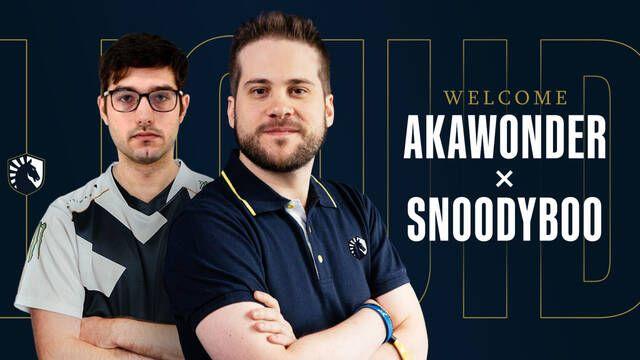 AKAWonder y Snoodyboo fichan por Team Liquid