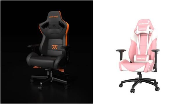 Anda Seat presenta dos modelos de sillas para jugar