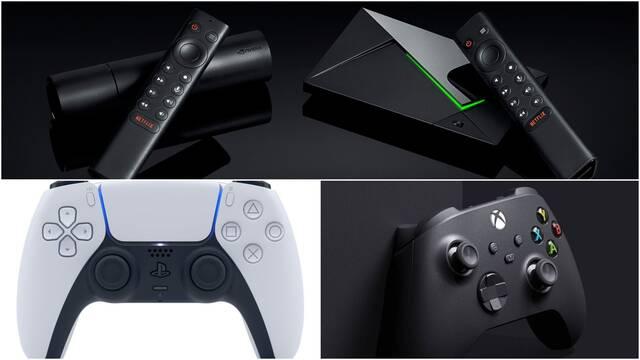 Nvidia Shield añade compatibilidad para los mandos de PS5 y Xbox Series X/S