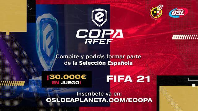La eCopa RFEF se preparara para un gran espectáculo de FIFA 21 en España