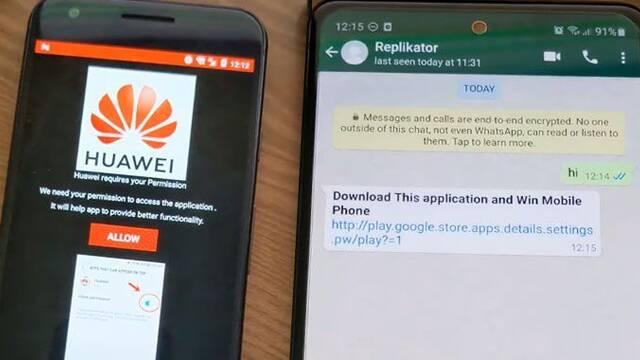 Este nuevo malware se comparte a través de Whatsapp y parece un enlace normal y corriente