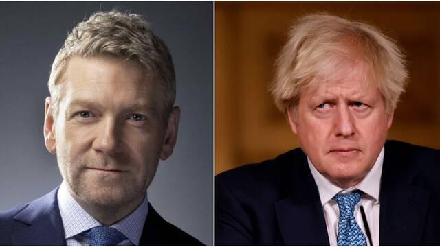 Kenneth Branagh será Boris Johnson en la miniserie This Sceptred Isle