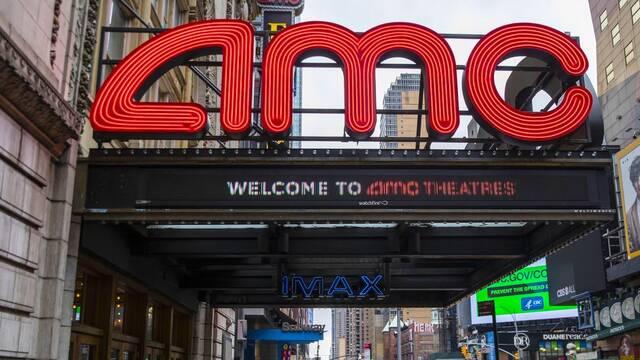 Las acciones de la cadena de cines AMC suben por el efecto 'Reddit'