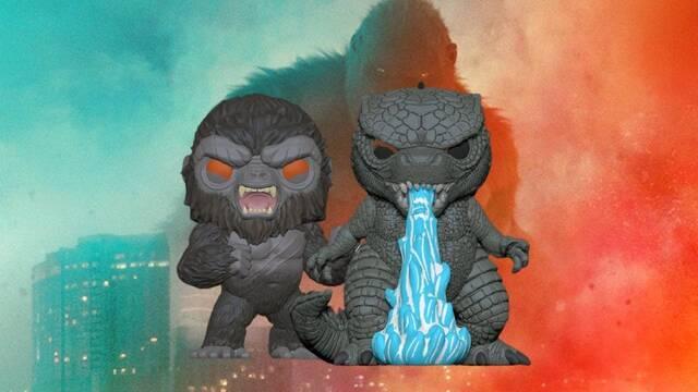 Godzilla vs Kong: Así serán sus Funko Pop