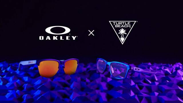 TURTLE BEACH anuncia un acuerdo de colaboración con la marca deportiva Oakley