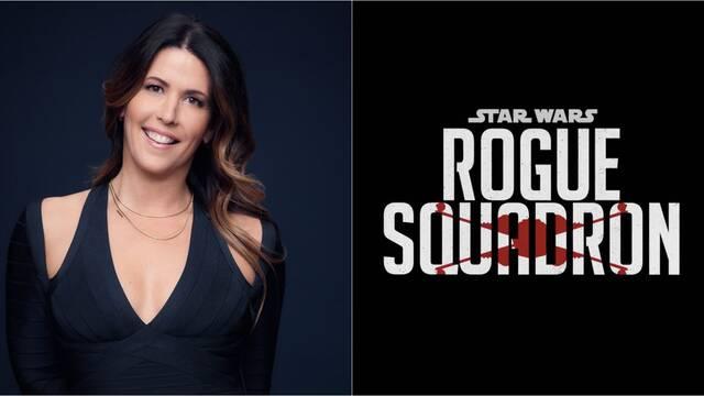 Patty Jenkins afirma estar emocionada con el guion de Star Wars: Rogue Squadron