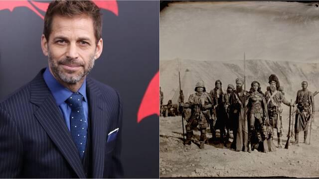 Zack Snyder comparte una brutal foto de Wonder Woman en la Guerra de Crimea