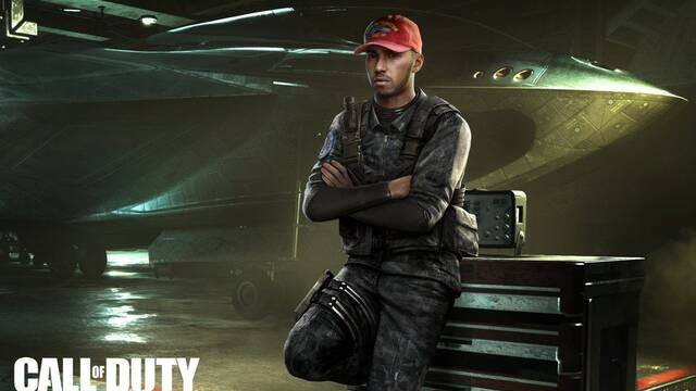 Lewis Hamilton aparecerá en Call of Duty: Infinite Warfare
