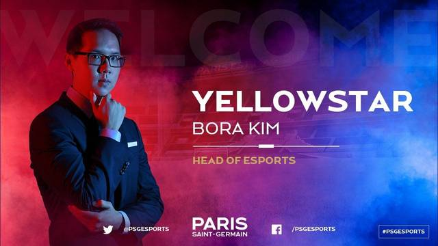 PSG presenta a YellOwStaR como el mánager de su equipo de League of Legends
