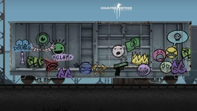 Los grafitis llegan a CS:GO con su última actualización