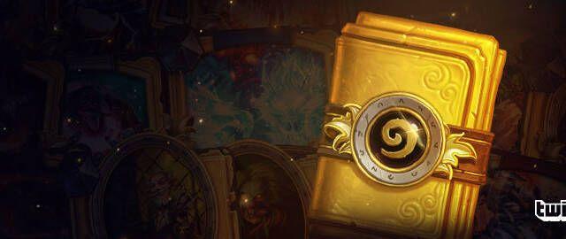 Los usuarios de Twitch Prime conseguirán un sobre de cartas doradas de Hearthstone en noviembre