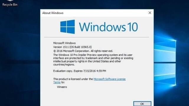 Hora de actualizar: La versión 1511 de Windows 10 se queda hoy sin soporte