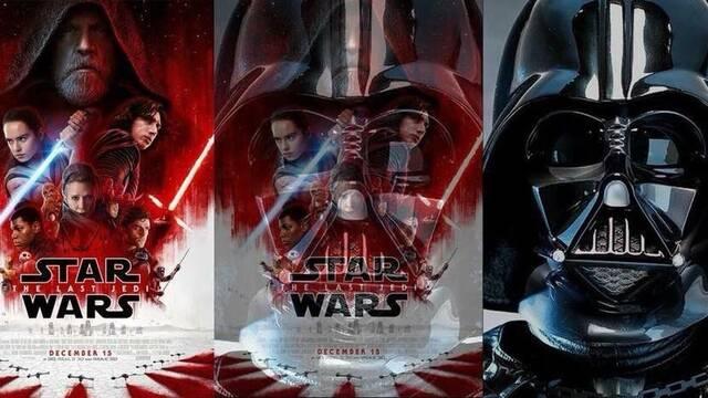 El póster de Star Wars Episodio VIII oculta una referencia a Darth Vader
