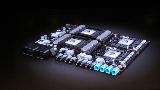 NVIDIA presenta su nueva placa Drive PX Pegasus para coches autónomos