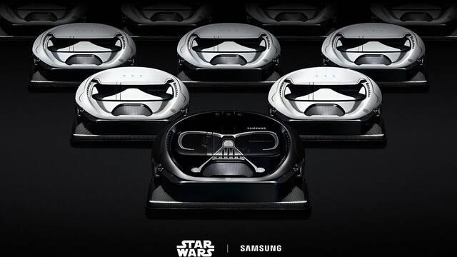 Samsung lanza un robot aspirador inteligente de Star Wars