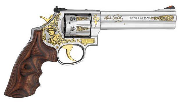 Ponen a la venta el revólver de Elvis Presley por 95.000 dólares