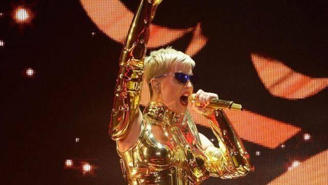 Katy Perry es ahora un Caballero del Zodíaco