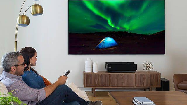 Hisense lanza una televisión láser de 100 pulgadas por 9999,99$