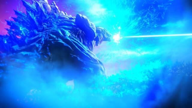 Así lucha Godzilla contra naves espaciales