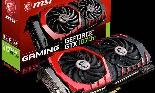 MSI presenta sus 5 versiones de GeForce GTX 1070 Ti
