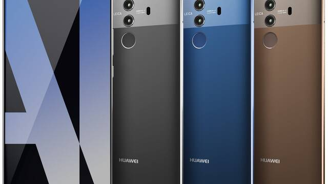 Se filtra una imagen del Huawei Mate 10 Pro