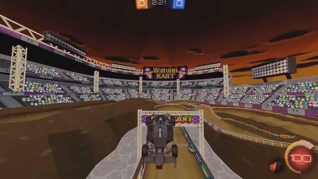 Rocket League se convierte en Mario Kart gracias a un mod