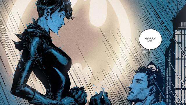 ¿Se casarán finalmente Catwoman y Batman?