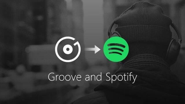 Microsoft abandona Groove Music para pasarse a Spotify