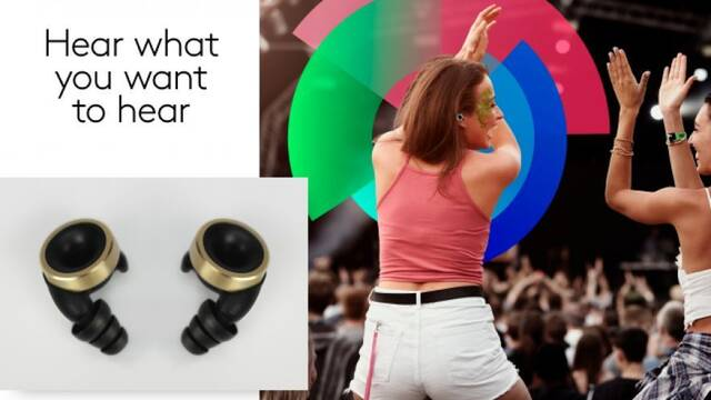 Crean unos auriculares para ajustar el volumen de la vida