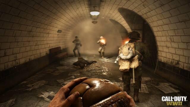 Primeras imágenes del nuevo mapa de Call of Duty: WWII ambientado en Londres