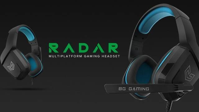 BG lanza Radar, auriculares para jugones por 19,90 euros