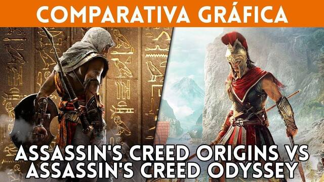 Comparativa gráfica: Assassin's Creed Odyssey VS.  AC Origins