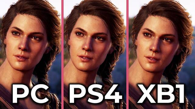 Comparativa: Assassin's Creed Odyssey en PC, PS4 y Xbox One
