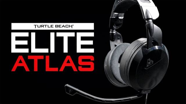 Atlas, los nuevos auriculares para jugones de PC de Turtle Beach