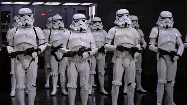 Aparecen soldados imperiales en el set de rodaje de 'The Mandalorian'