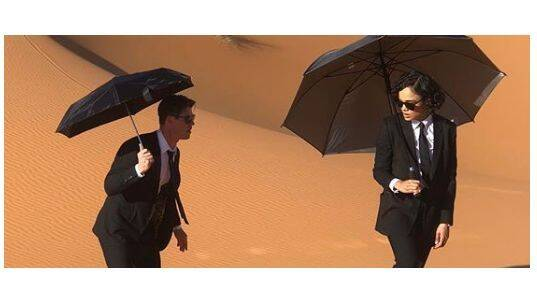 Primera imagen de Chris Hemsworth y Tessa Thompson en 'Men in Black'