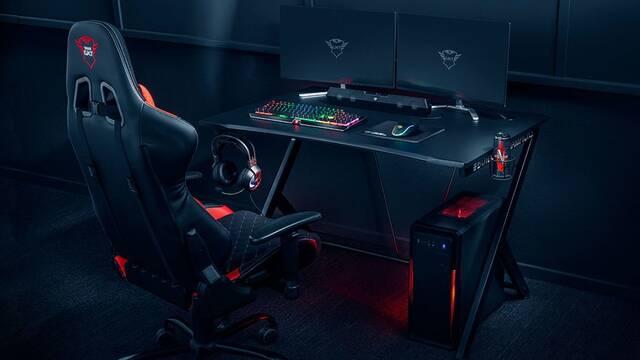 Trust Gaming presenta su mesa para jugadores, la GXT 711 Domunis