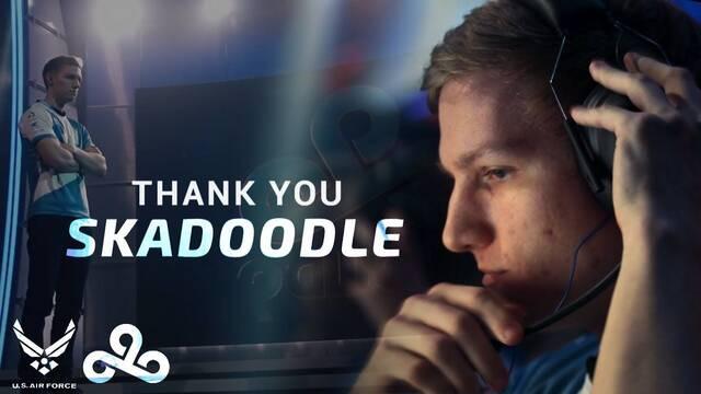 Skadoodle se retira de la escena competitiva de CS:GO