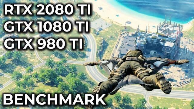 Comparativa gráfica: Call of Duty Blackout con una 2080 Ti, 1080 Ti y 980 Ti