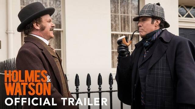 Will Ferrell y John C. Reilly protagonizan la divertida 'Holmes and Watson'