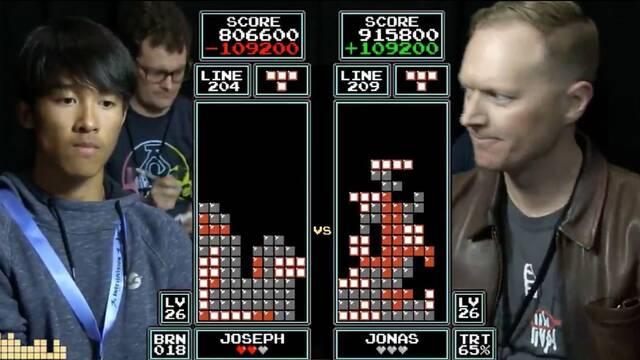 Joven de 16 años se vuelve el nuevo campeón de Tetris clásico