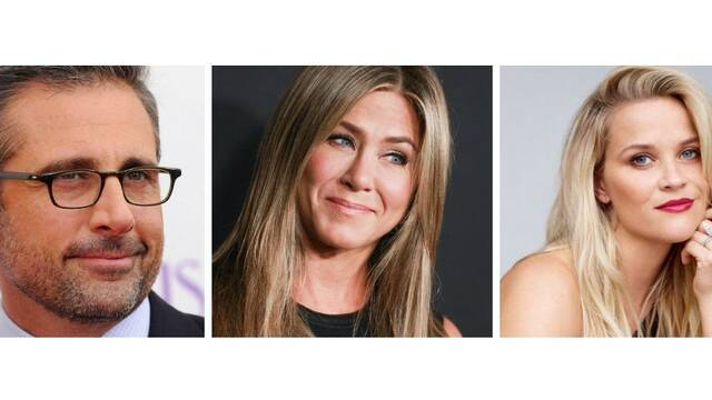 Steve Carell, Jennifer Aniston y Reese Witherspoon trabajarán con Apple
