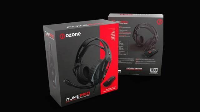 Nuke Pro, los nuevos cascos 7.1 de Ozone para jugadores