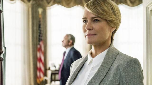 Robin Wright explica cómo ha sido continuar House of Cards sin Spacey